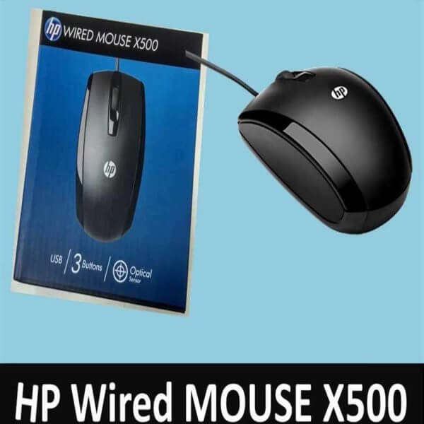 HP X500 Wired Mouse (3)