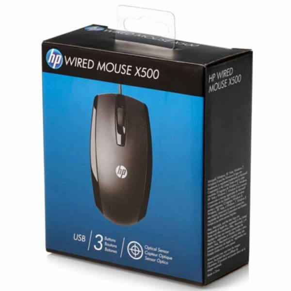 HP X500 Wired Mouse (4)