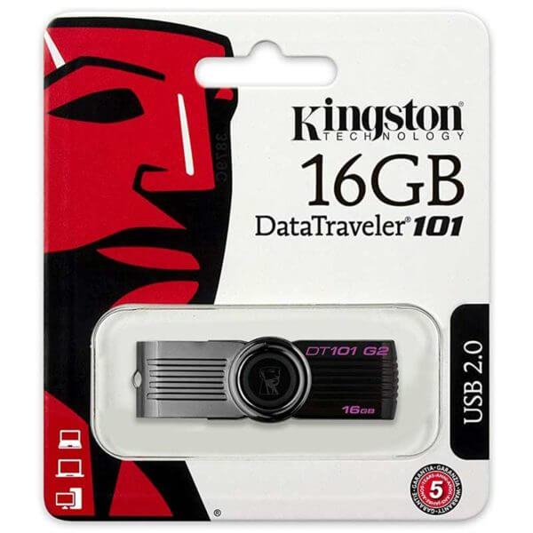 Kingston 16GB DataTraveler 101 Flash Drive