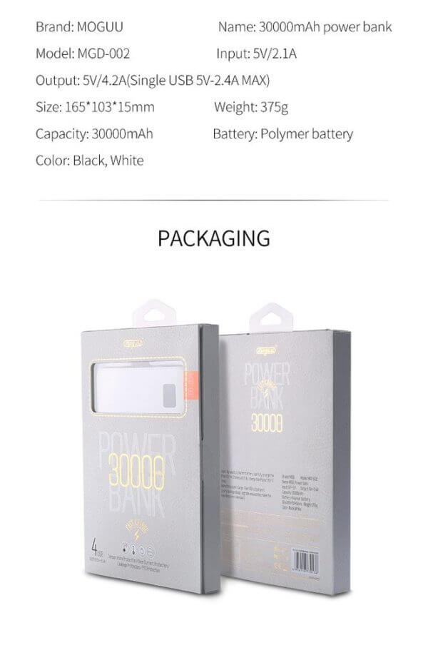 Moru 30000 mah Power Bank (2)
