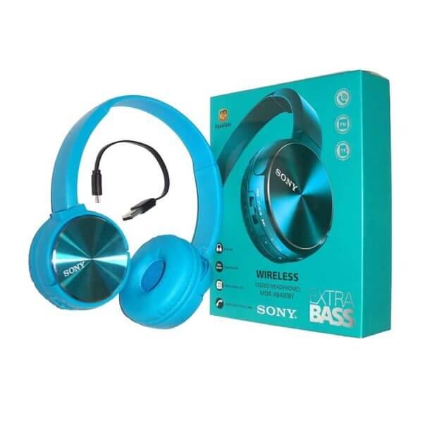 Sony Mdr Xb400by Wireless Bluetooth Headphone Switch Pk