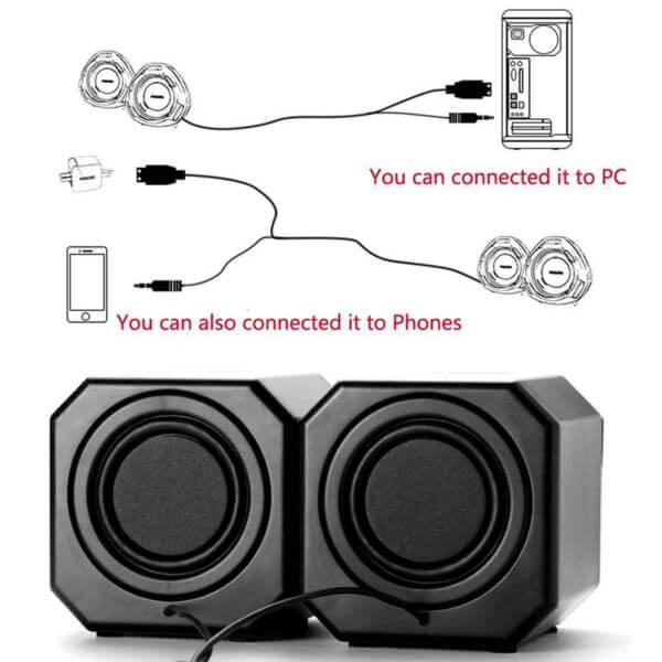 USB 2.0 Mobile Desktop Speaker A8 (11)
