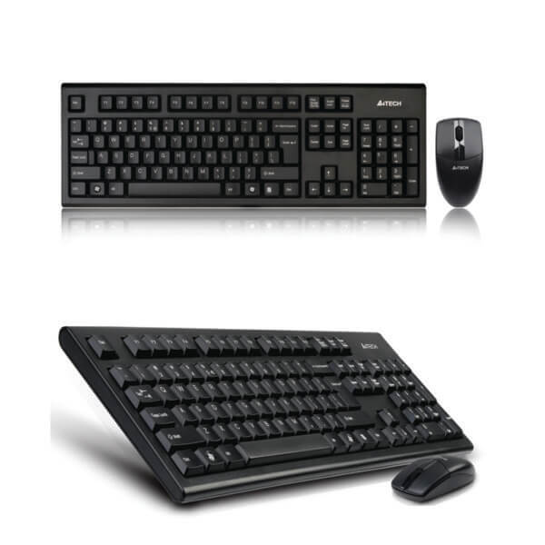 A4tech 3100N Wireless Keyboard and Mouse (1)