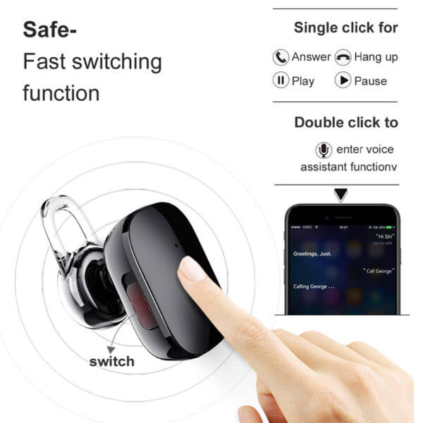 Baseus-A02 Mini Wireless Earphone With Touch (5)
