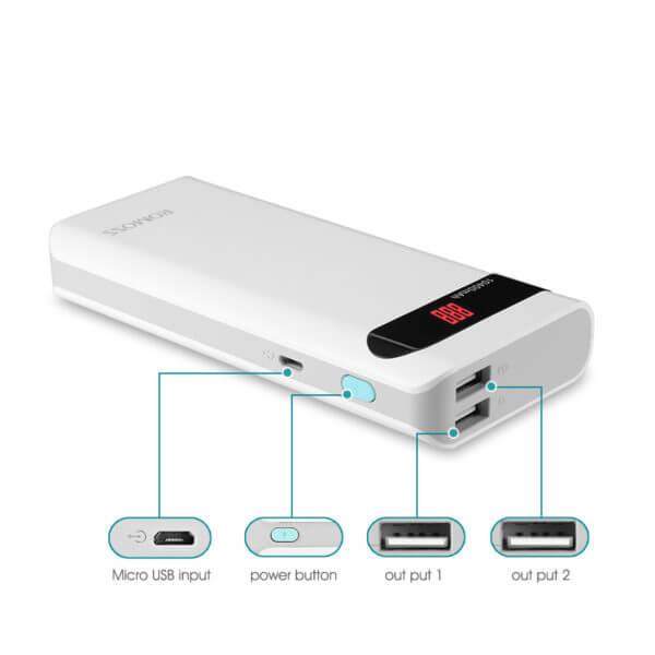 Romoss Sense 4P 10400 mAh Power Bank (3)