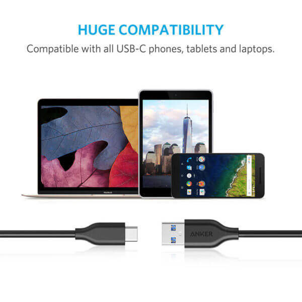 Anker PowerLine 3ft Type-C Data Cable (3)