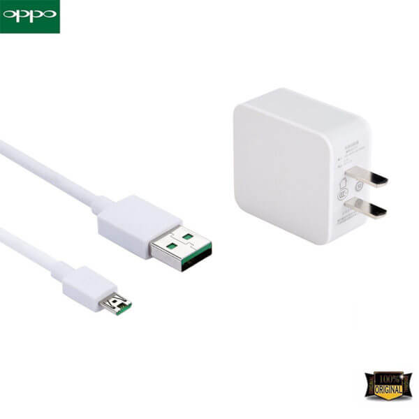 Oppo AK717 Adapter And Oppo Vooc Data Cable