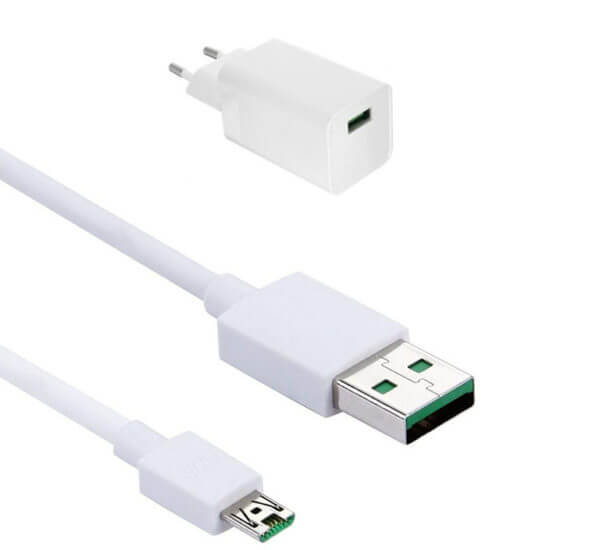 Oppo Vooc AK779 Adapter And Oppo Vooc Data Cable