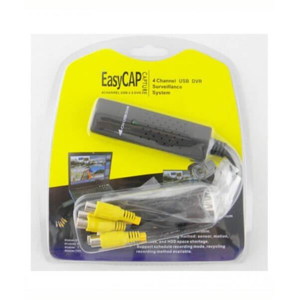 Easycap Pro USB 2.0 Video Capture Card TV DVD VHS (1)